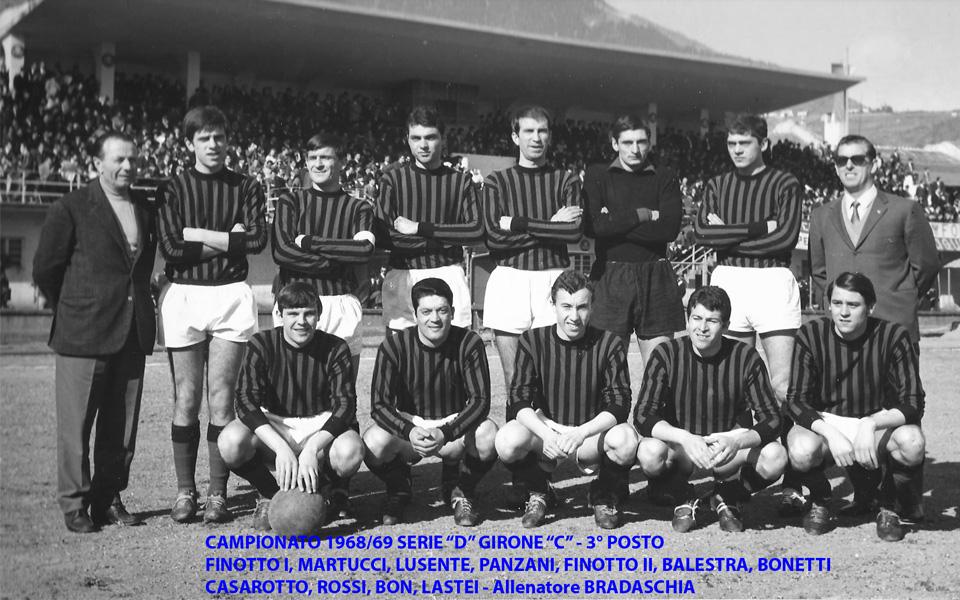 Passirio squadra 1968-1969