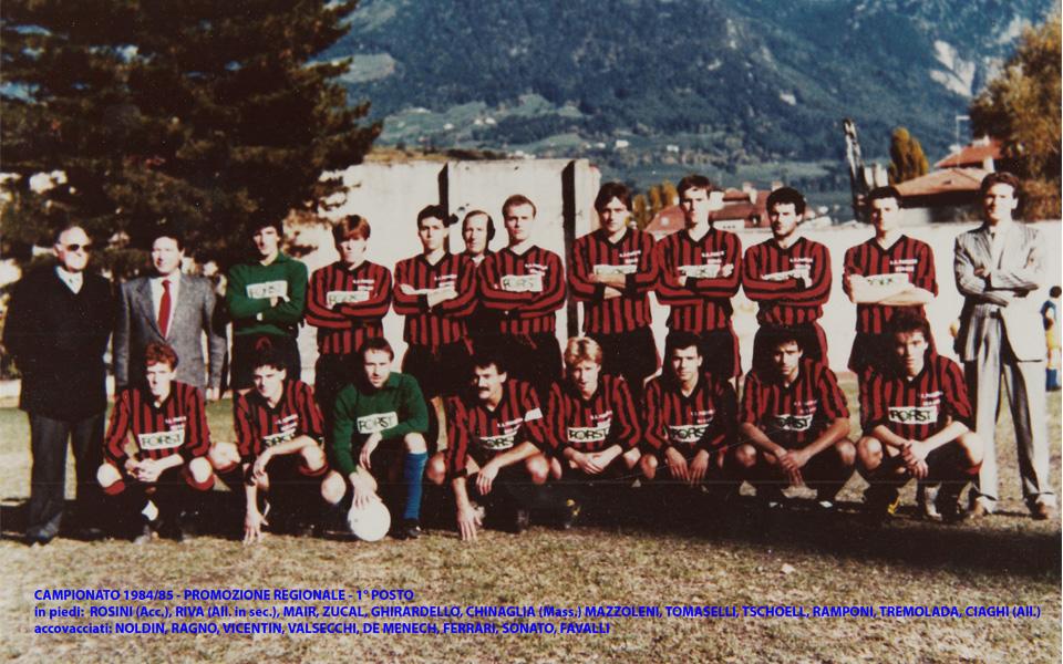Passirio squadra 1984-1985