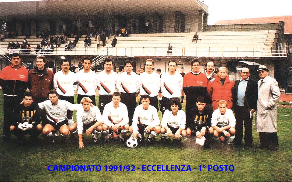 Passirio squadra 1991-1992