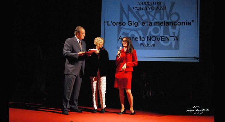 Narrativa per l'infanzia 2011 - Antonella Noventa vince il primo premio