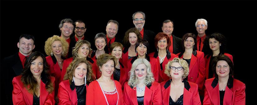 Showchoir Vocalists Le Pleiadi a Merano al Teatro Puccini
