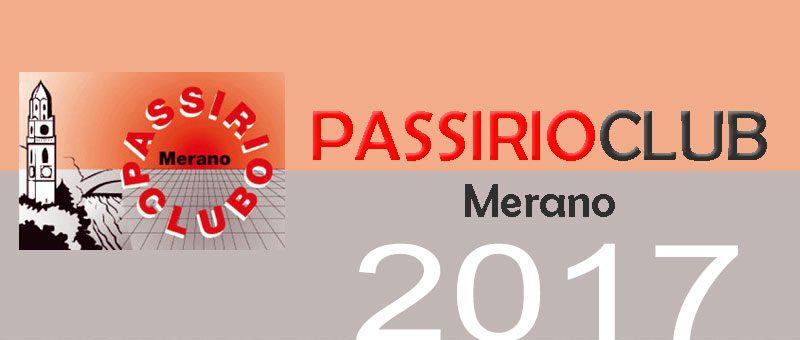 Programma 2017 del Passirio Club Merano
