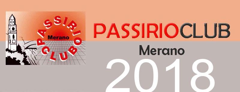 Programma 2018 del Passirio Club Merano
