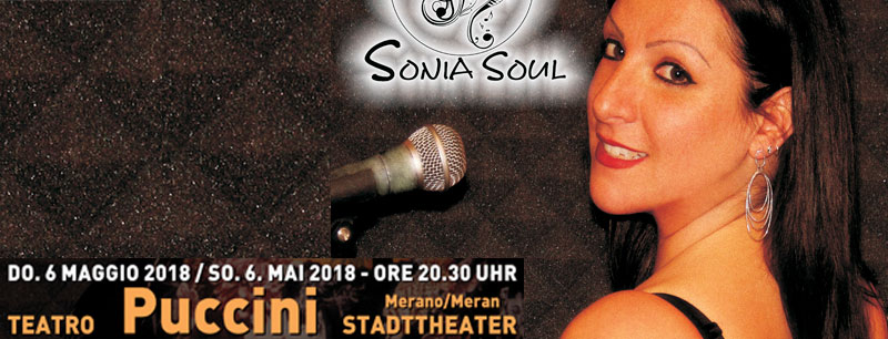 sonia soul a merano 2018