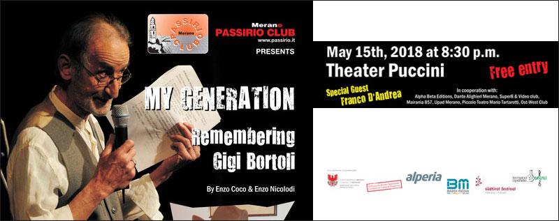 My Generation – Remembering Gigi Bortoli
