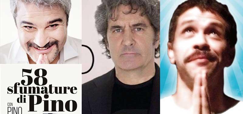 Pino Insigne Fausto Leali e Marco Morandi a Merano 2020
