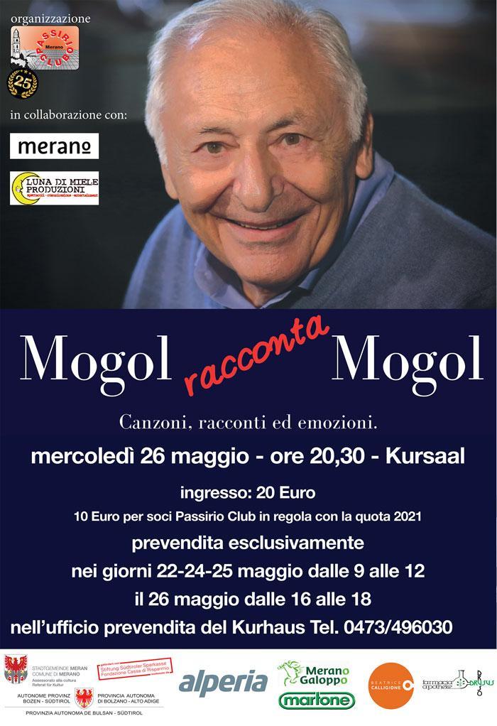 Mogol a Merano, maggio 2021